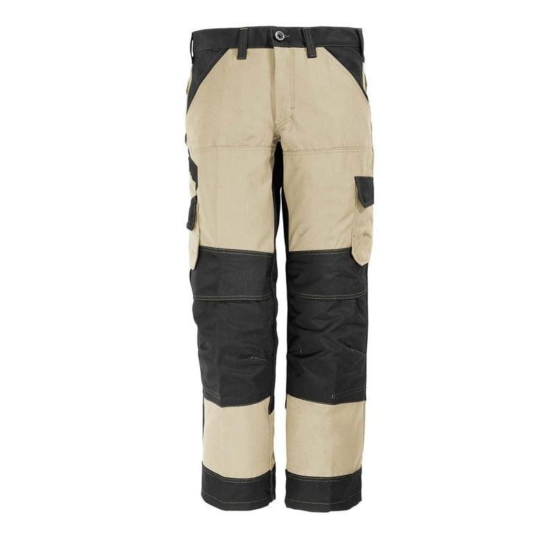 Le pantalon de travail FHB markus avec poches pour genouillères en cordura