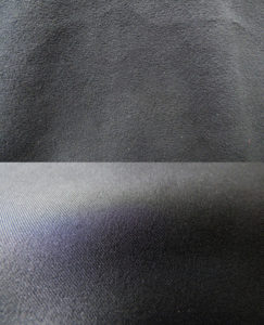 Détails du tissu intérieur et extérieur de la softshell