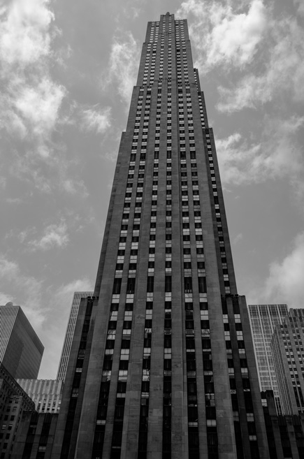 Le GE Building du Rockfeller Center
