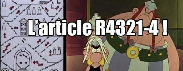 Comment trouver l'article R4321-4 dans le code du travail