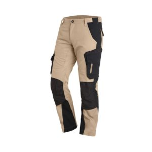 Le pantalon de travail Florian par FHB en couleur beige