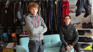 Vianney et Jean de Kraft Workwear