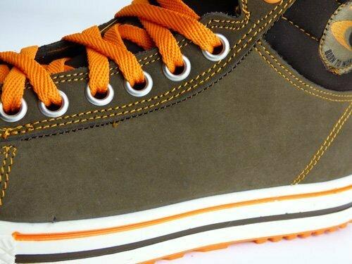 Cuir des chaussures de sécurité conférence