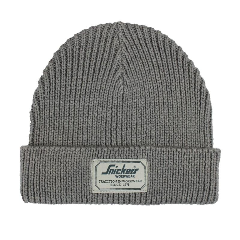 Un bon bonnet en laine snickers pour travailler dans le froid