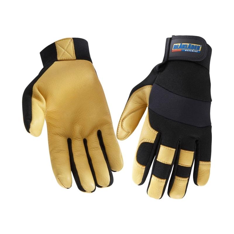 De très bons gants en cuir par Blaklader