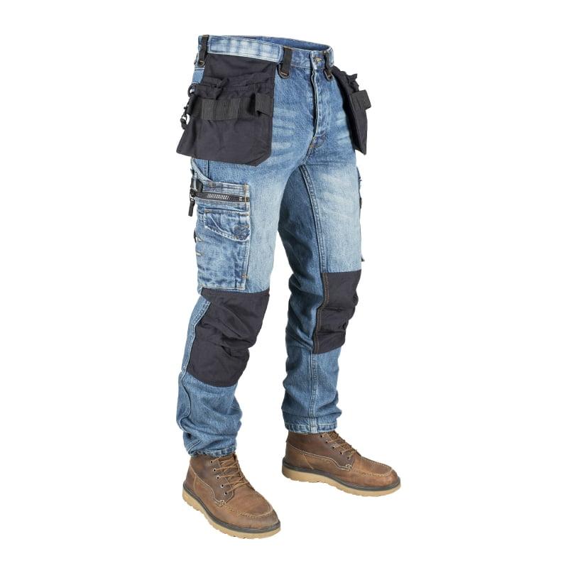 Un bon jean de travail , fabriqué par Dunderdon