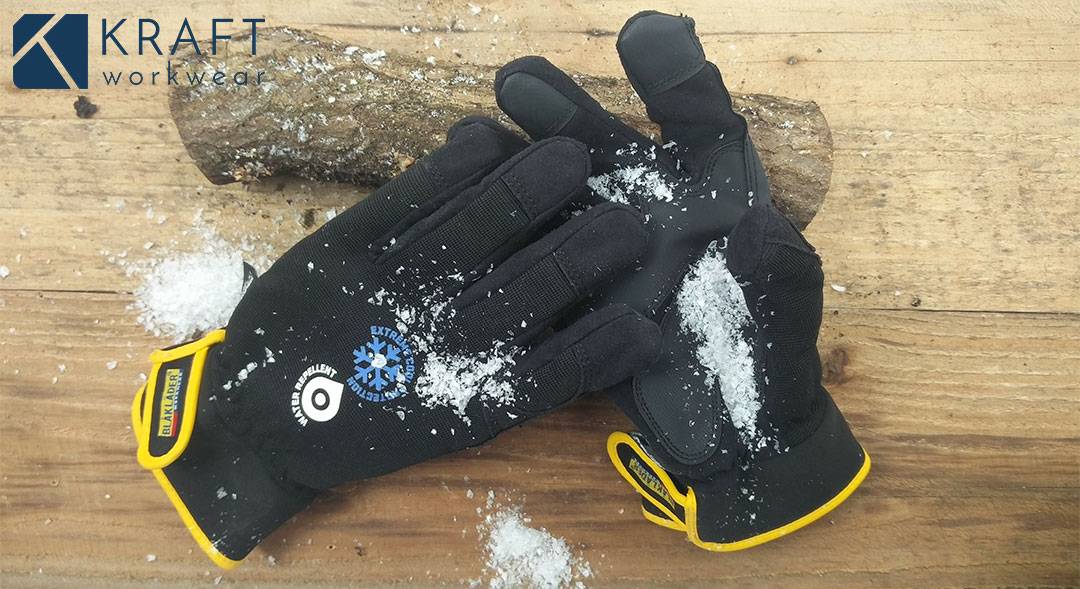 Fier de porter des gants Blaklader