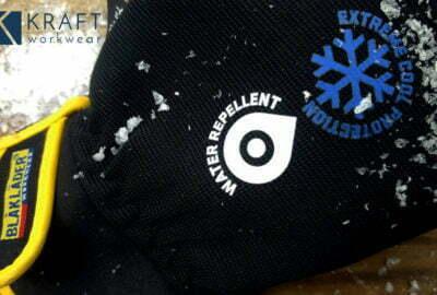 gants de travail hiver blaklader