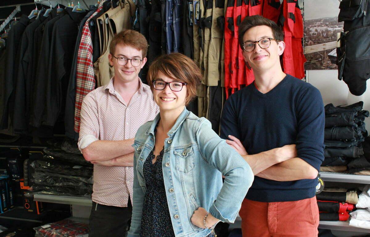 Photo de l'équipe Kraft Workwear, spécialiste en vêtements de travail