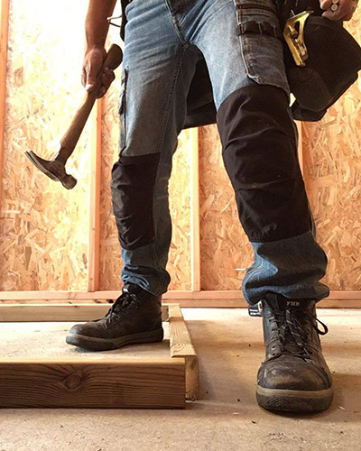 ismael porte le jean de travail p12 dunderdon