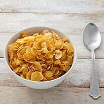 Bol de pétales de maïs pour Aude de l'équipe Kraft