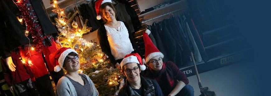 l'equipe kraft workwear souhaite un joyeux noel 2017 à ses artisans