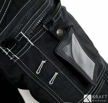detail du pantalon de travail pour l hiver blaklader x1500