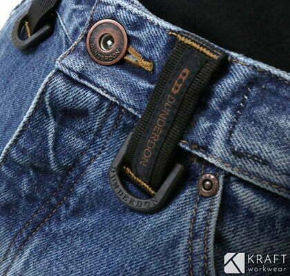 detail du pantalon de travail pour l hiver dunderdon p12