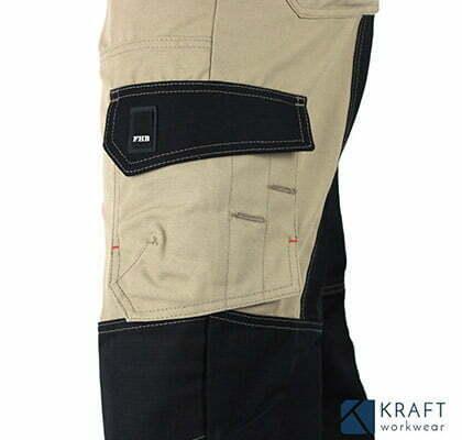 detail du pantalon de travail pour l hiver fhb markus