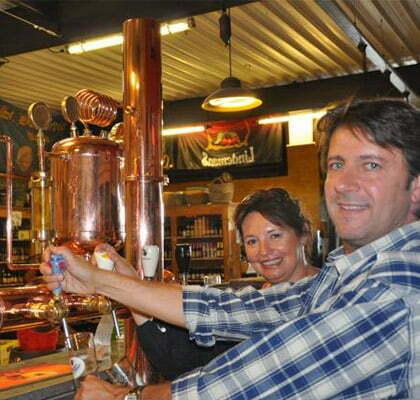 bruno et catherine du bar a biere la cervoiserie angers
