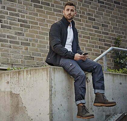 style workwear homme en jean de travail
