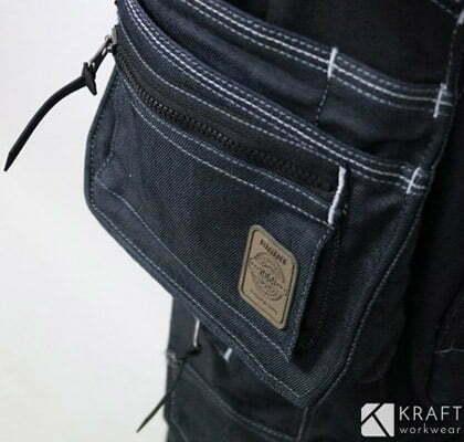 detail poche du jean de travail blaklader x1900