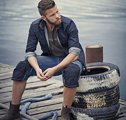 en vetement de travail homme style workwear
