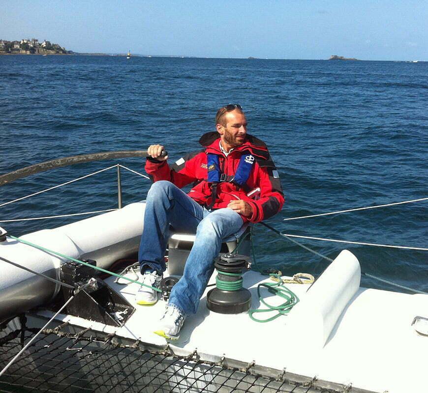 benoit ingenieur marin passionne de voile
