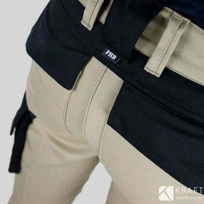 detail pantalon de travail fhb florian de benoit ingenieur marin