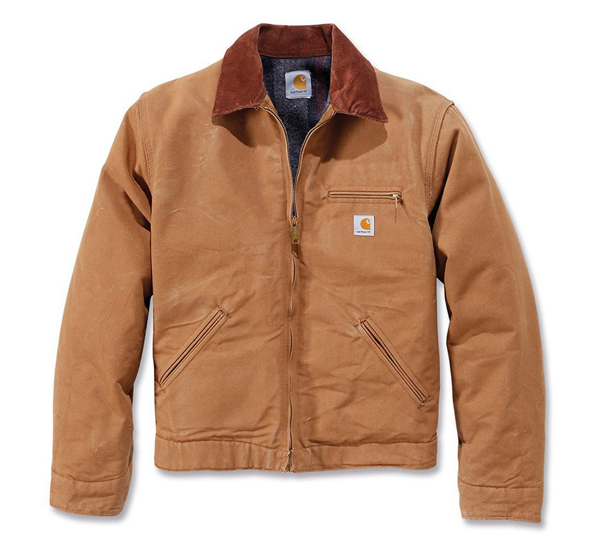la carhartt weathered duck detroit ou detroit jacket