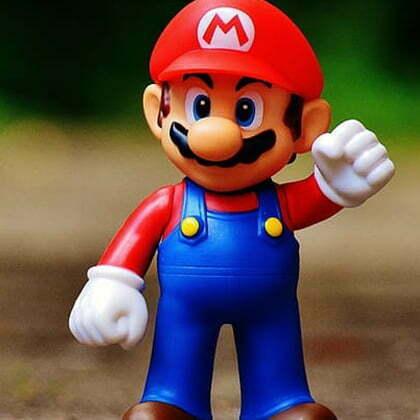 Mario en salopette